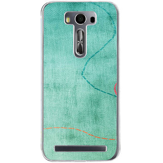 ifasho Animated Pattern colrful traditional design cloth pattern Back Case Cover for Asus Zenfone Go