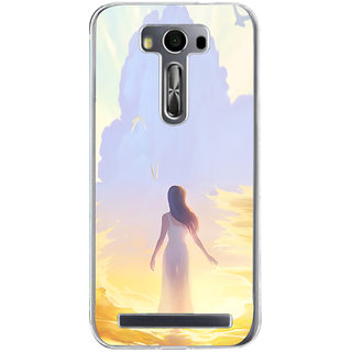 ifasho Girl painting Back Case Cover for Asus Zenfone Go