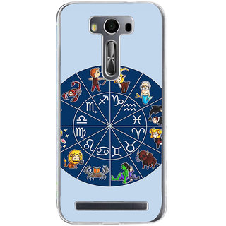 ifasho zodiac sign ALL Back Case Cover for Asus Zenfone Go