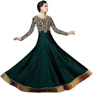 adcb99fa89fee Buy Shoponbit Designer Heavy Long Party Wear Anarkali Suit Online   ₹2099  from ShopClues