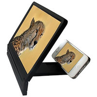 3D Video Folding Enlarged Screen Expander Stand For All Smart Phones - By Octain Black