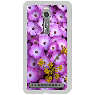 ifasho Pattern colorful flower Back Case Cover for Asus Zenfone 2