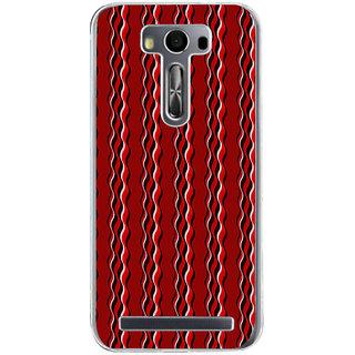 ifasho Design lines pattern Back Case Cover for Asus Zenfone Selfie