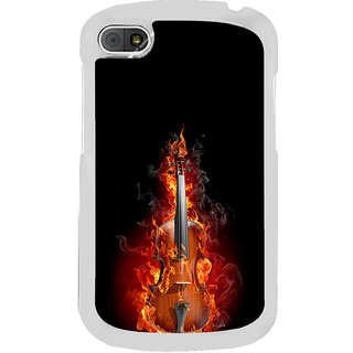 ifasho Animated  Guitar Back Case Cover for BLACKBERRY Q10