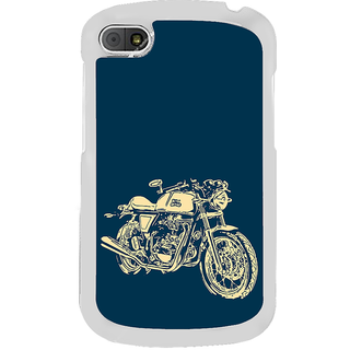 ifasho Fierry Bike Back Case Cover for BLACKBERRY Q10