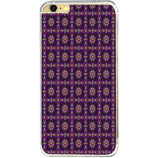 ifasho Animated Pattern design colorful flower in royal style Back Case Cover for Apple Iphone 6