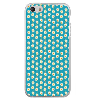 ifasho Pattern white flower design Back Case Cover for Apple Iphone 4