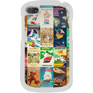 ifasho Animated Pattern colourful hollywood film posters  Back Case Cover for BLACKBERRY Q10
