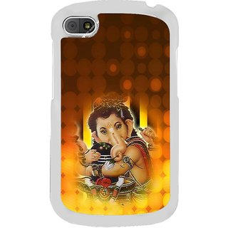 ifasho Lord Ganesha with linga Back Case Cover for BLACKBERRY Q10