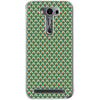 ifasho Animated Pattern of Chevron Arrows royal style Back Case Cover for Asus Zenfone Go