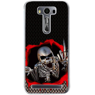 ifasho Modern  Design skeleton Pattern Back Case Cover for Asus Zenfone Go