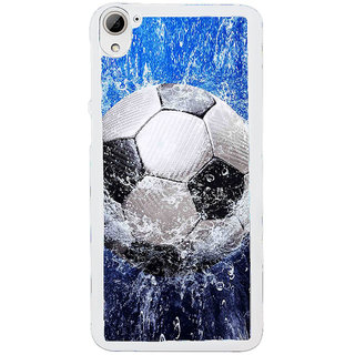 ifasho Foot ball Back Case Cover for HTC Desire 826