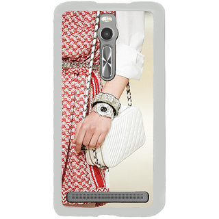 ifasho Designer dress pattern Back Case Cover for Asus Zenfone 2