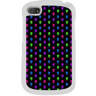 ifasho Modern  Design colourful skeleton Pattern Back Case Cover for BLACKBERRY Q10