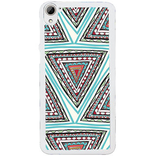 ifasho Animated Pattern colrful tribal design Back Case Cover for HTC Desire 826
