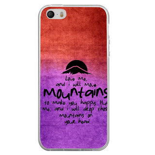 ifasho Love Quotes for love Back Case Cover for Apple Iphone 4