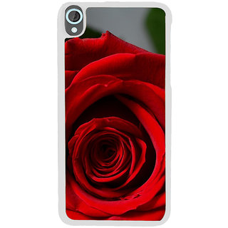 ifasho Red Rose Back Case Cover for HTC Desire 820