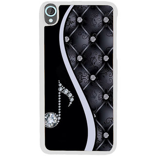 ifasho Modern Art Design Pattern Music symbol Back Case Cover for HTC Desire 820