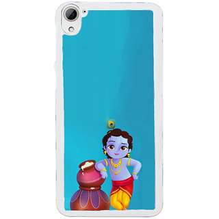 ifasho Lord Krishna stealing curd animated Back Case Cover for HTC Desire 826