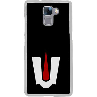 ifasho Ramanuja Tilak Back Case Cover for Honor 7