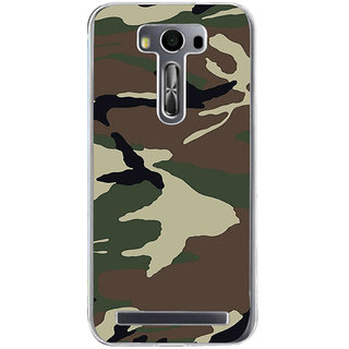 ifasho Army dress pattern Back Case Cover for Asus Zenfone Selfie