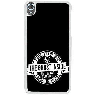 ifasho Think Out of Box Back Case Cover for HTC Desire 820