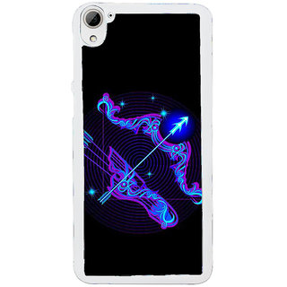 ifasho zodiac sign Sagitarius Back Case Cover for HTC Desire 826