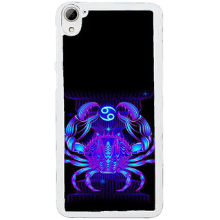 ifasho zodiac sign cancer Back Case Cover for HTC Desire 826