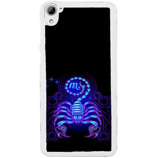 ifasho zodiac sign scorpio Back Case Cover for HTC Desire 826