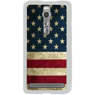 ifasho Country Flag on wooden background Back Case Cover for Asus Zenfone 2