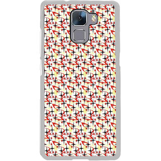 ifasho Animated Pattern colourful littel stars Back Case Cover for Honor 7