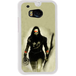 ifasho Siva in smasan Back Case Cover for HTC One M8