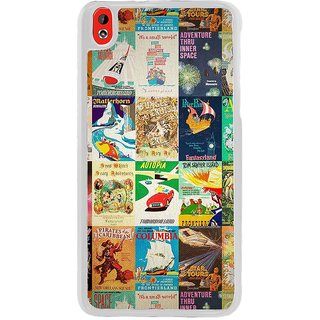 ifasho Animated Pattern colourful hollywood film posters  Back Case Cover for HTC Desire 816