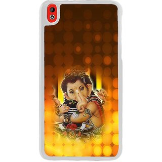 ifasho Lord Ganesha with linga Back Case Cover for HTC Desire 816