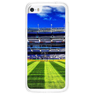 ifasho Football stadium field Baseball field Back Case Cover for Apple Iphone 5C