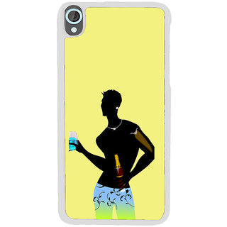 ifasho Designer boy Back Case Cover for HTC Desire 820