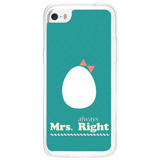 ifasho Always right quote Back Case Cover for Apple Iphone 5C
