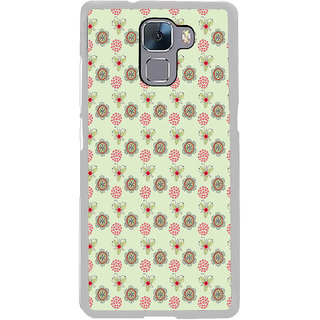 ifasho Animated Pattern design many small flowers  Back Case Cover for Honor 7