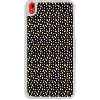 ifasho Animated Pattern colourful littel stars Back Case Cover for HTC Desire 816