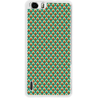 ifasho Animated Pattern of Chevron Arrows royal style Back Case Cover for Huawei Honor 6