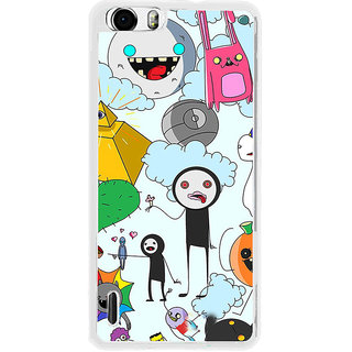 ifasho Cartoon Soft face many cartoons characters Back Case Cover for Huawei Honor 6