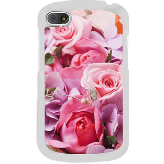 ifasho Red Rose Back Case Cover for BLACKBERRY Q10