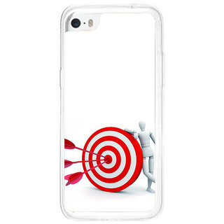 ifasho Hit the bulls eye  Back Case Cover for Apple Iphone 5C