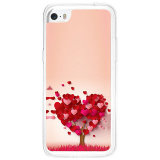 ifasho Animated Pattern With Love and heart and Ishq Back Case Cover for Apple Iphone 5C