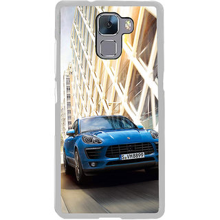 ifasho Car In Mexico City Back Case Cover for Honor 7