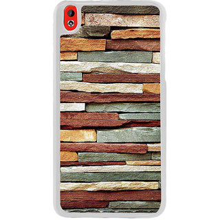 ifasho Rough Stone Graphics Back Case Cover for HTC Desire 816