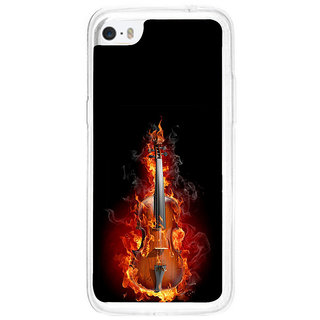 ifasho Animated  Guitar Back Case Cover for Apple Iphone 5C