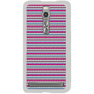 ifasho Animated Pattern colrful traditional design Back Case Cover for Asus Zenfone 2