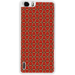 ifasho Modern Art Design Pattern with Lot Of small heart Back Case Cover for Huawei Honor 6