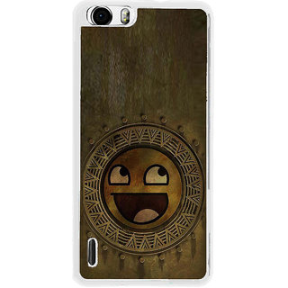 ifasho Smilee on wood Back Case Cover for Huawei Honor 6